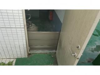 新北市林口汙水回收中心樓梯口防水閘門