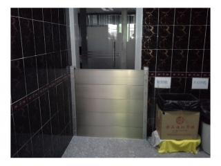 新竹電子廠洗手間出入口擋水閘門
