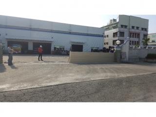 高雄岡山鋼鐵廠大門防水閘門設施