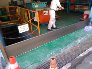 嘉義機械廠房出入口鋁合金防水閘門