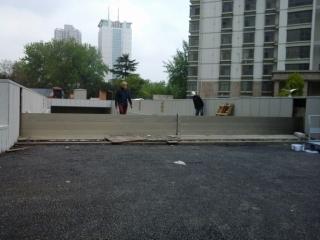 新北市板橋大樓車道出入口防水閘門施作