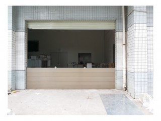 新竹電子廠廠房出入口防水閘門