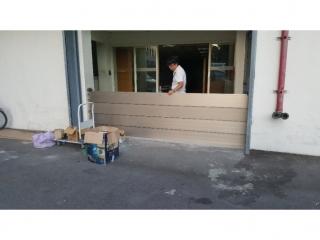 樹林電子廠房出入口鋁合金防水閘門
